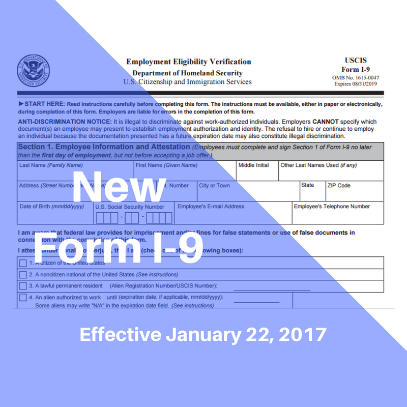 What You Need To Know About The New Form I-9